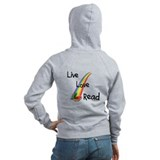 live, love, read Zip Hoody