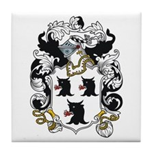 Trumbull Coat of Arms Tile Coaster