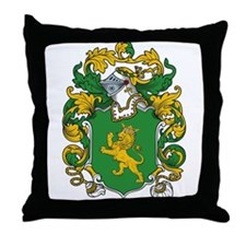 Tyson Coat of Arms Throw Pillow
