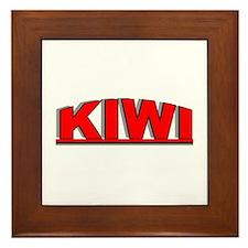 """""""Kiwi"""" Framed Tile"""