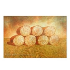 Round Bales postcards