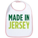 Cute Made in new jersey Bib