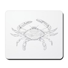 Blue Crab Art Mousepad
