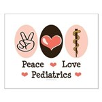 Peace Love Pediatrics D.O. Small Poster