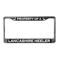Property of Lancashire Heeler License Plate Frame