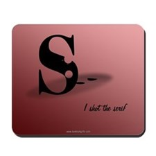 The Serif... Mousepad