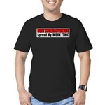 Don't Spread My Wealth Men's Fitted T-Shirt (dark)