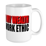 Don't Spread My Wealth Large Mug