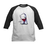 Kissing Bandit Westie Tee