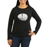 Hatching Chick Women's Long Sleeve Dark T-Shirt