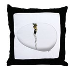 Hatching Chick Throw Pillow
