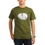 Hatching Chick Organic Men's T-Shirt (dark)
