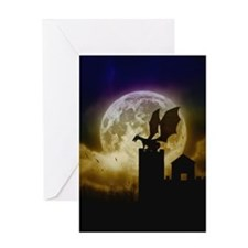 Castle Guardian Greeting Card