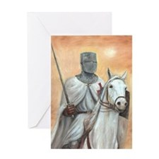 Knights Templar Greeting Card