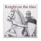 Knights Templar Tile Coaster