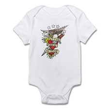 Live Free Or Die Infant Bodysuit