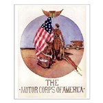 The Motor Corps of America Small Poster