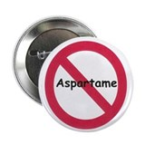 "NO Aspartame Allowed 2.25"" Button (10 pack)"