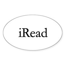 iRead Oval Stickers