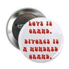 "Love Is Grand 2.25"" Button (10 pack)"