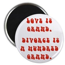 "Love Is Grand 2.25"" Magnet (10 pack)"