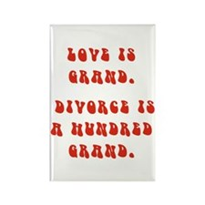Love Is Grand Rectangle Magnet (10 pack)