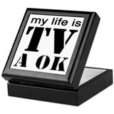 TV A OK Keepsake Box