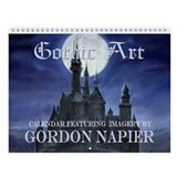 Gothic Wall Calendar