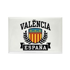 Valencia Espana Rectangle Magnet