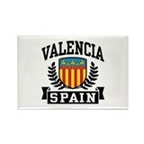 Valencia Spain Rectangle Magnet