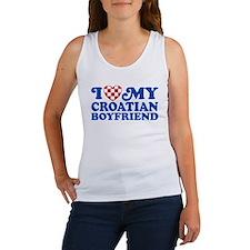 I Love My Croatian Boyfriend Women's Tank Top