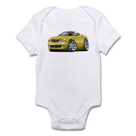 Crossfire Yellow Convertible Infant Bodysuit