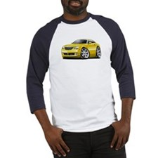 Crossfire Yellow Car Baseball Jersey