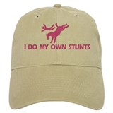 Pink Bucking Horse 'Stunts' Baseball Cap