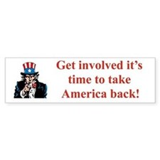 GET INVOLVED IT'S TIME TO TAKE AMERICA BACK