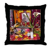 Frida Kahlo Alter Throw Pillow