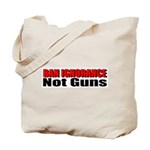 Ban Ignorance Tote Bag