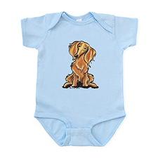Longhair Dachshund Lover Infant Bodysuit