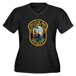 Citrus Sheriff's Office Women's Plus Size V-Neck D