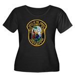 Citrus Sheriff's Office Women's Plus Size Scoop Ne