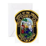 Citrus Sheriff's Office Greeting Cards (Pk of 10)