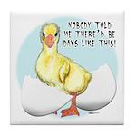 Gosling Hatch #2 Tile Coaster