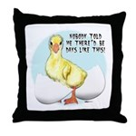 Gosling Hatch #2 Throw Pillow