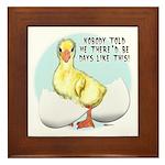 Gosling Hatch #2 Framed Tile