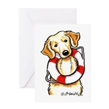 Golden Retriever Lover Rescue Greeting Card