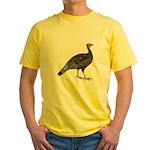 Turkey Standard Bronze Hen Yellow T-Shirt