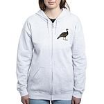 Turkey Standard Bronze Hen Women's Zip Hoodie