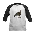Turkey Standard Bronze Hen Kids Baseball Jersey