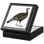 Turkey Standard Bronze Hen Keepsake Box