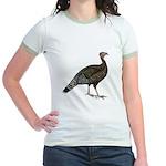Turkey Standard Bronze Hen Jr. Ringer T-Shirt